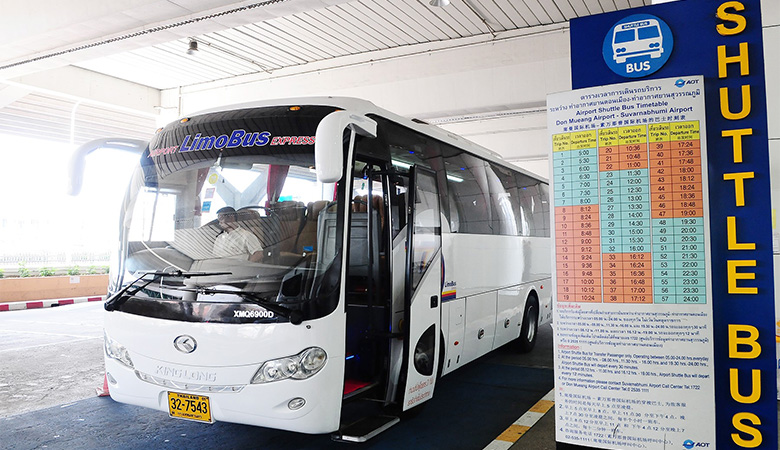 Bus to Bangkok Airport